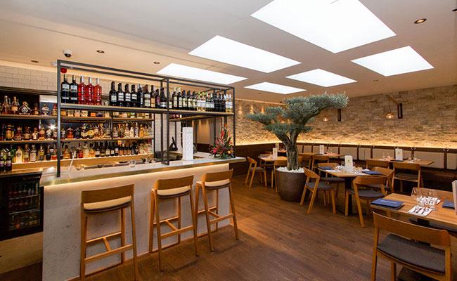 Andalucia Ferring tapas restaurant interior design