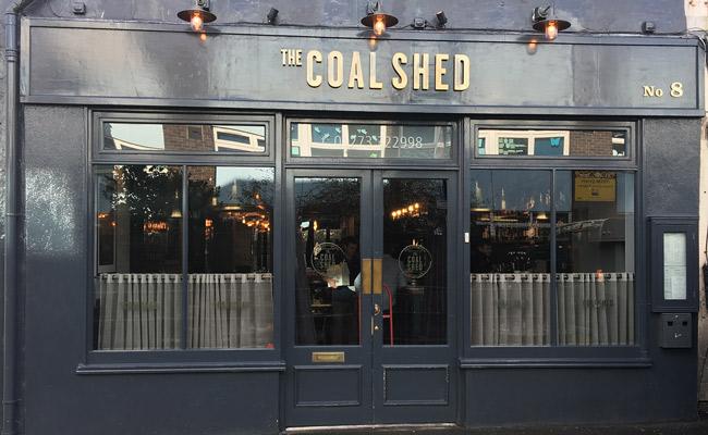The Coal Shed shopfront