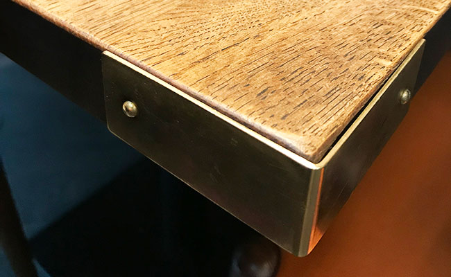 metal table edging