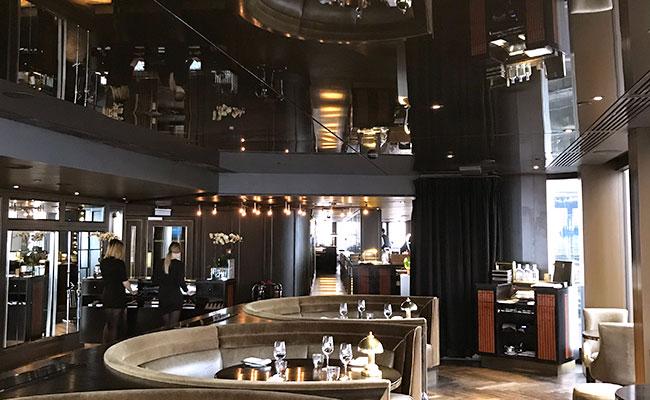 art deco style restaurant