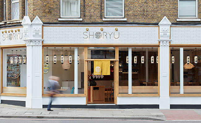 Shoryu Shoreditch exterior