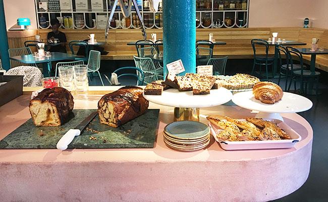 Jewish bakery counter London