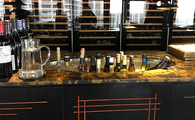 restaurant wine sink