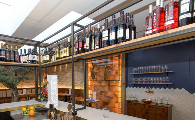 Andalucia tapas restaurant bar design