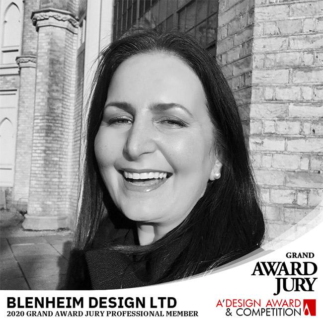 design award grand juror Maja Myall of Blenheim Design