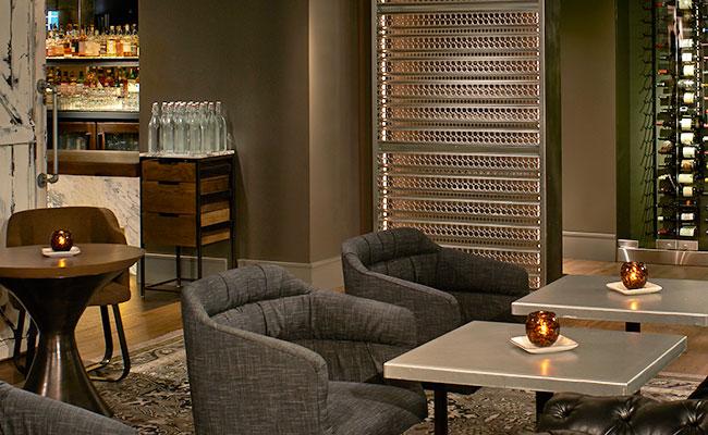 hotel bar seating Zelos