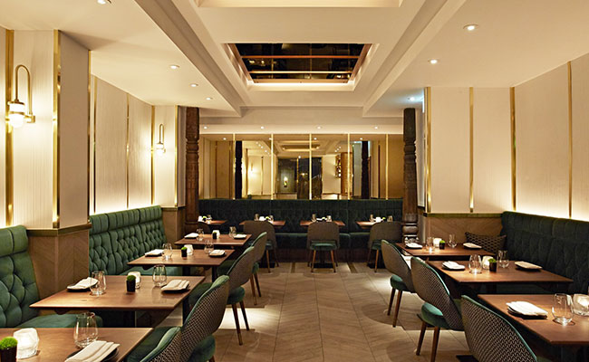 luxurious Indian restaurant London