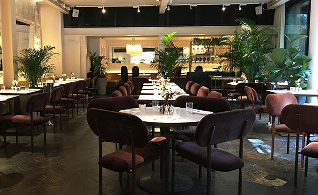 Serge et Le Phoque restaurant interior in London