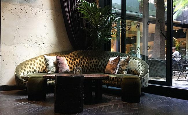 Mandrake hotel sofa