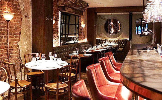 Nestled in London's trendy Charlotte St just a short walk from Goodge Street Underground is style French Mediterranean restaurant Ninth.