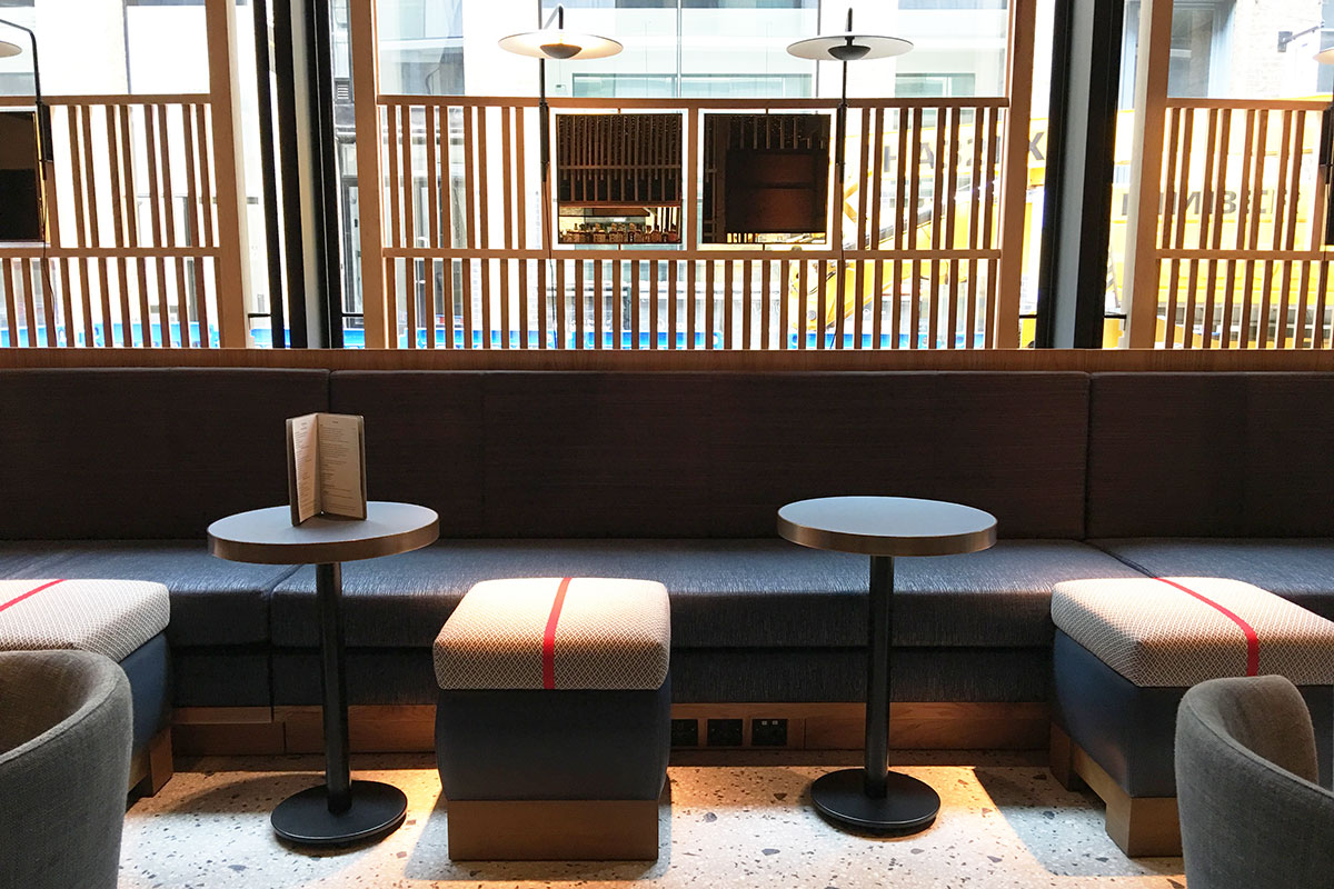 Nobu Hotel Shoreditch Blenheim Design