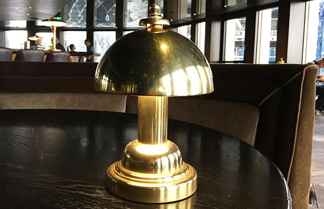 restaurant table lamp