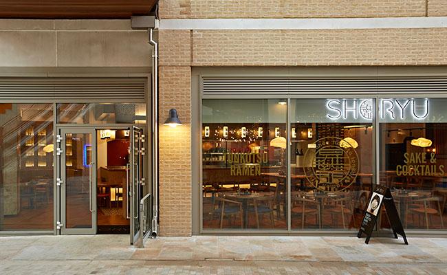 Shoryu Oxford outside