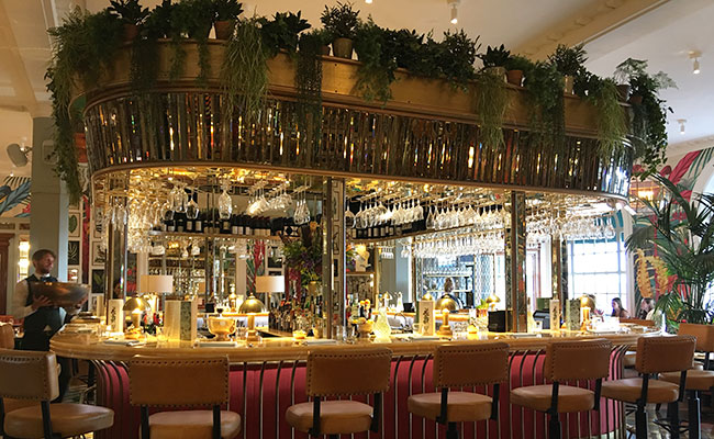 the Ivy Grill Bar Brighton design