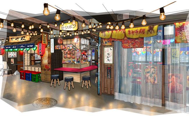 Asian street food  restaurant